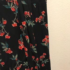 Cute Elastic Waist Midi Wrap Drape Skirt.